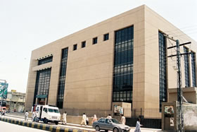 Regional head office building for national bank of - National bank of pakistan head office ...